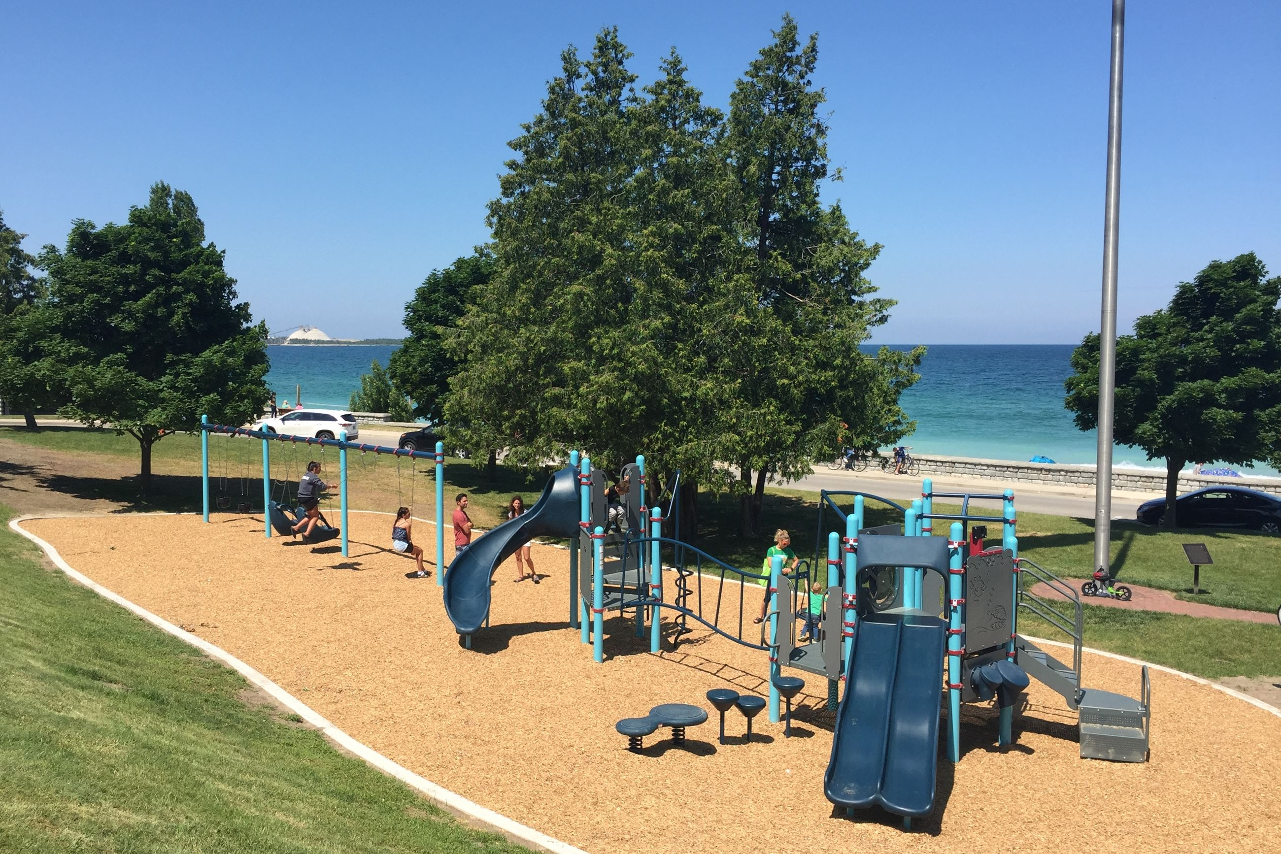 Playground at Lake Michigan Beach