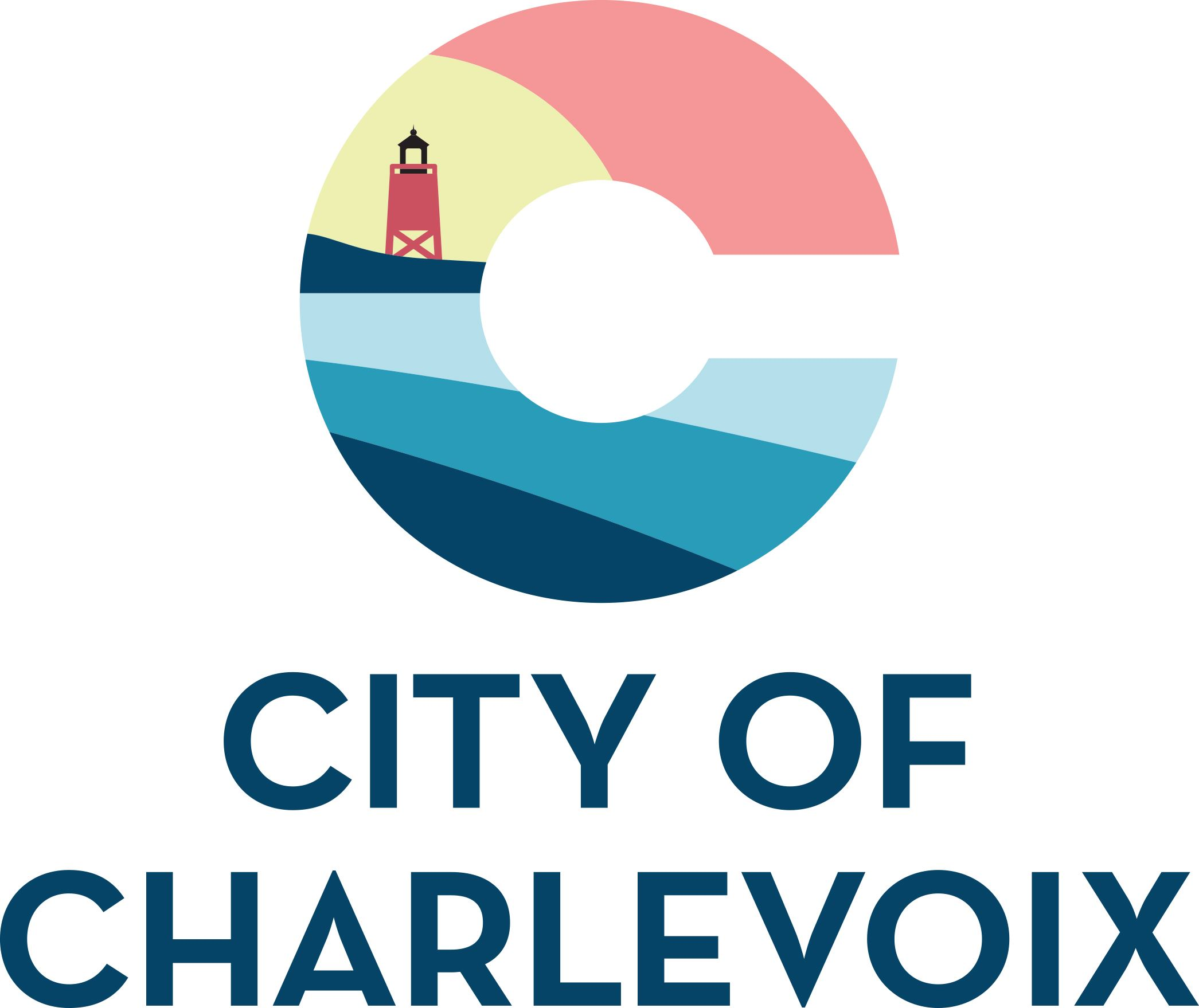 City Of Charlevoix Vertical Logo